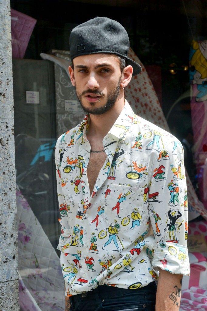 Prada spring/summer 2012 printed shirt