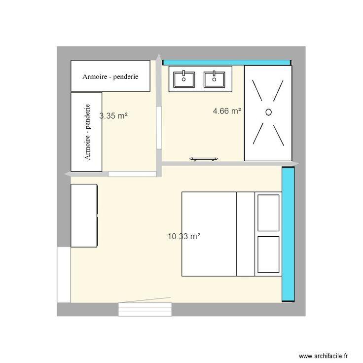 Plan Suite Parentale 20m2 Rectangulaire Recherche Google