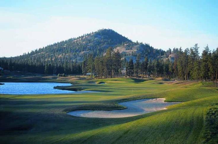 The Bear Golf Course. Kelowna B.C.