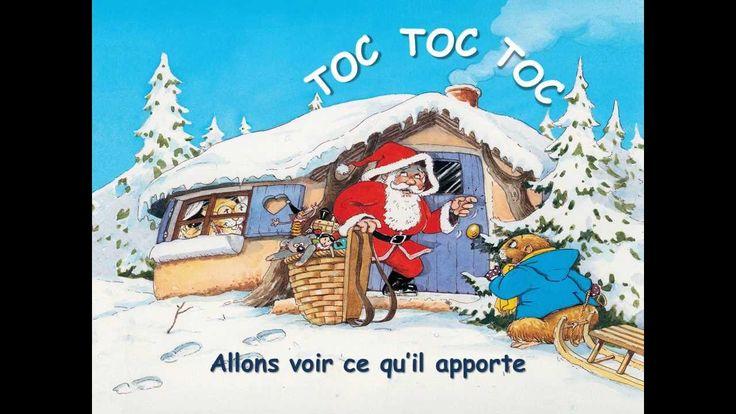 Versini - Les Chansons de Noël - Père Noël frappe à la porte