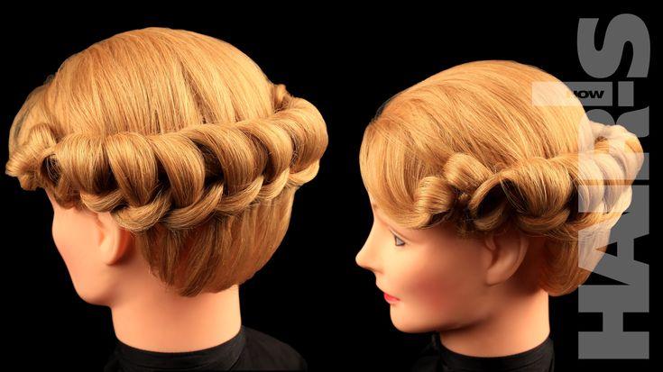 Делаем оригинальную прическу «Венок» - видеоурок (мастер-класс) Hair's How