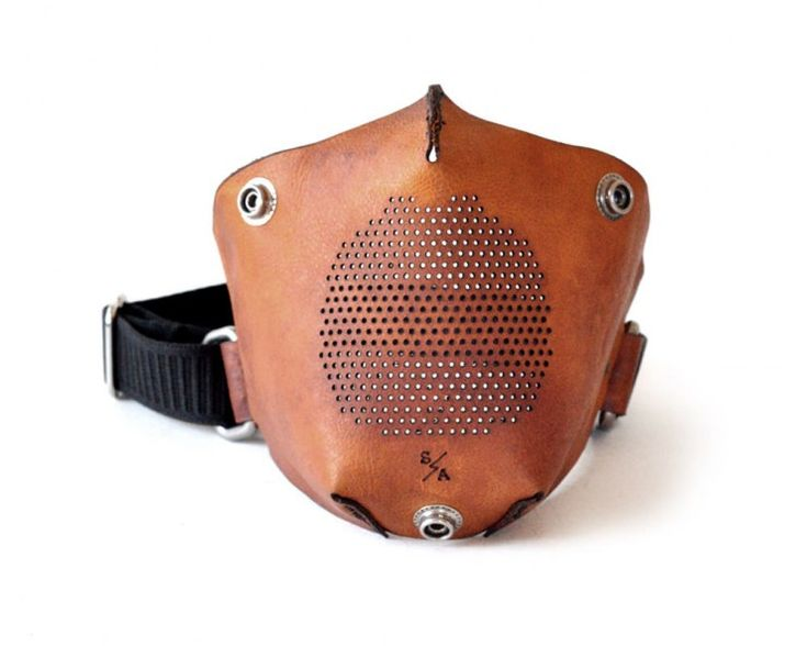Leather Motorcycle Masks by Sunday Academy
