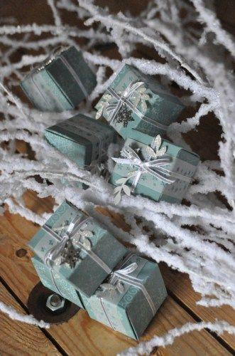 Insta boîte de Noël par Marie Meyer Stampin up - http://ateliers-scrapbooking.fr/