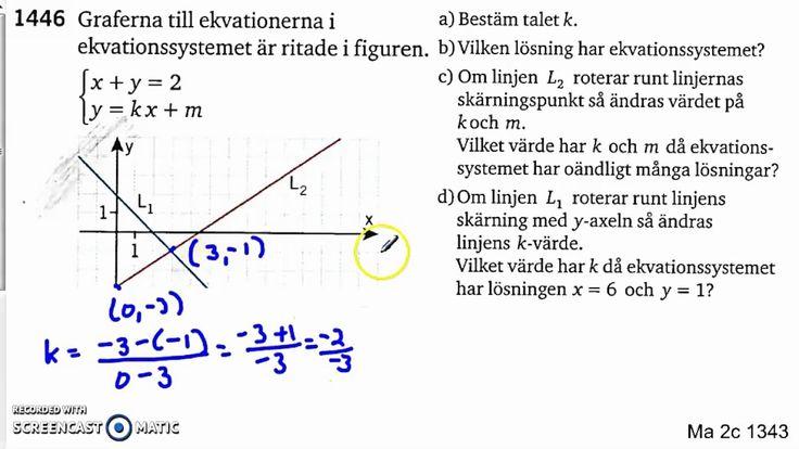 Matematik 5000 Ma 2c   Kapitel 1   Några speciella ekvationssystem   1343