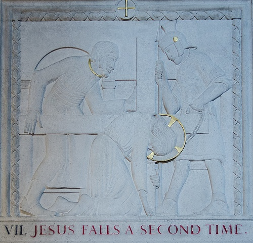 Eric Gill's Way of the Cross 7