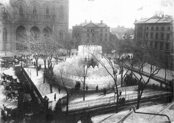 Place d'Armes. Années 1880. VM6,D1901-226-1-030.