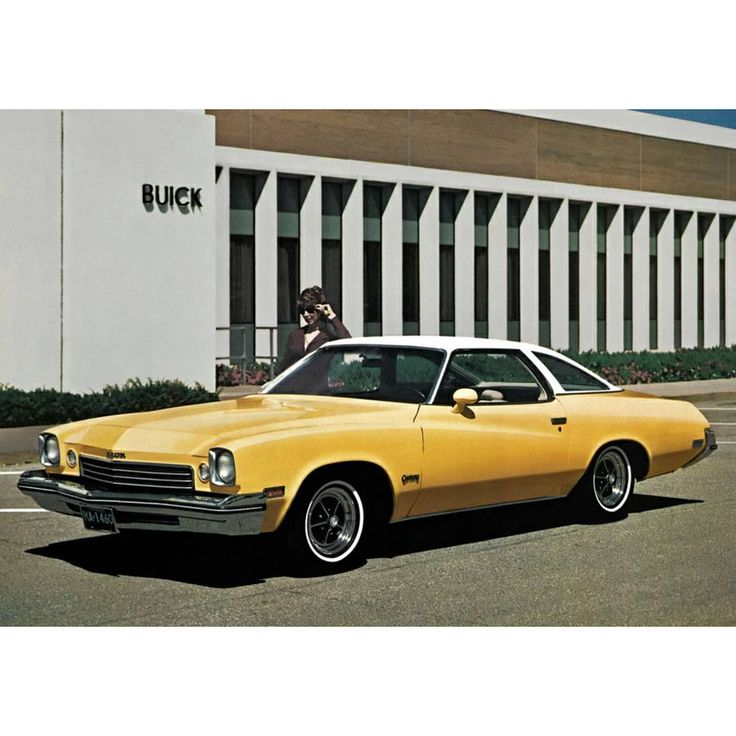 1973 Buick Century Colonnade Hardtop Coupe