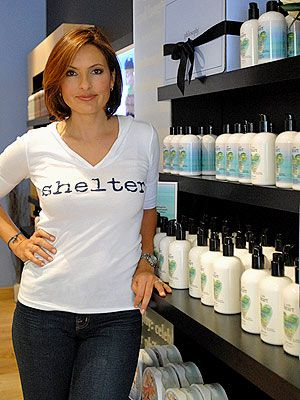 Mariska Hargitay has been my favorite actress since I was 12.  AND she created an amazing charity: the Joyful Heart Foundation.  Check it out.