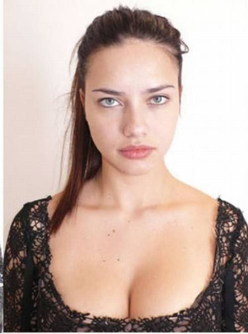 Supermodels Without Make-up 4
