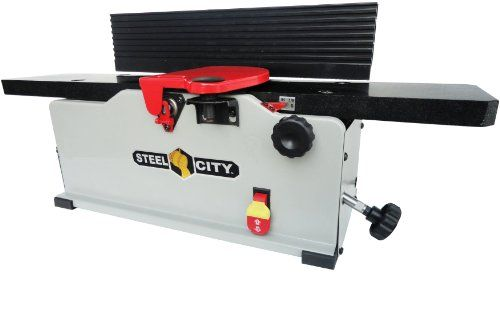 Steel City Tool Works 40610gh 6 Inch Granite Bench Jointer With Helical Cutter Head Product