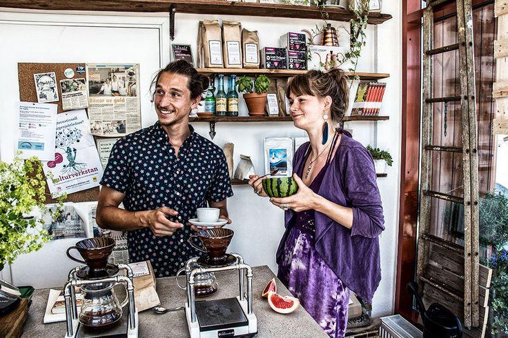 Kometresa för kaffebar i Göteborg   himlamycketsverige
