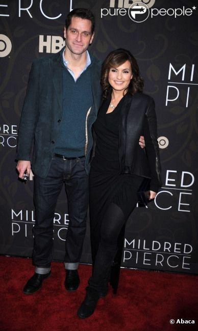 Mariska Hargitay et son mari Peter Hermann en mars 2011 à New York