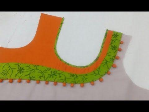 Beautiful Neck Design Cutting and Stitching - YouTube