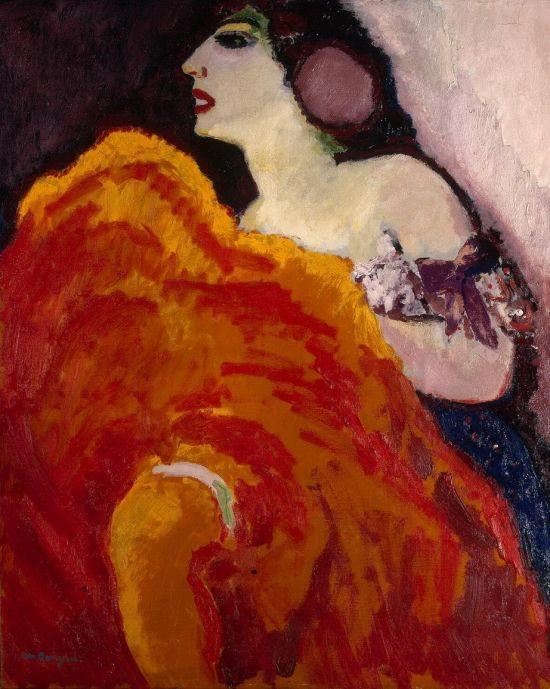 Kees Van Dongen,  La danseuse en rouge, 1907