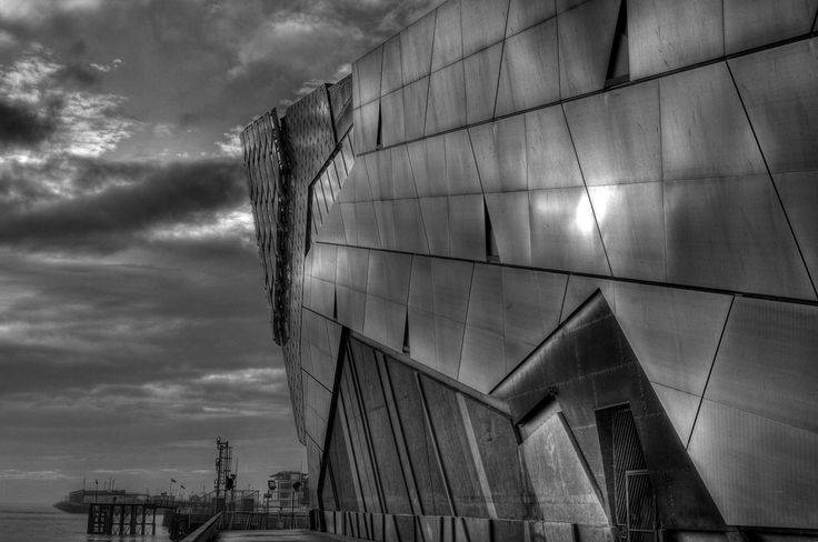 #fivedayblackandwhitechallenge  Day Four The Deep In Hull
