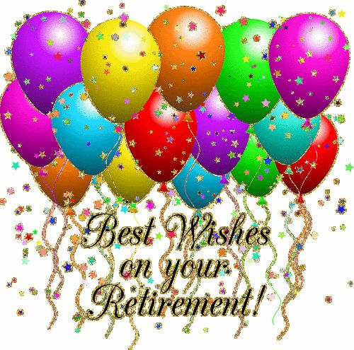 Retirement Wishes | Congratulations & Much Love to You Rita!