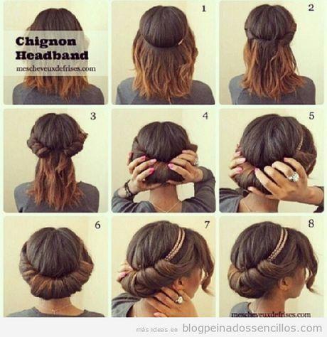 M s de 25 ideas incre bles sobre peinados media melena en - Peinados en melenas ...