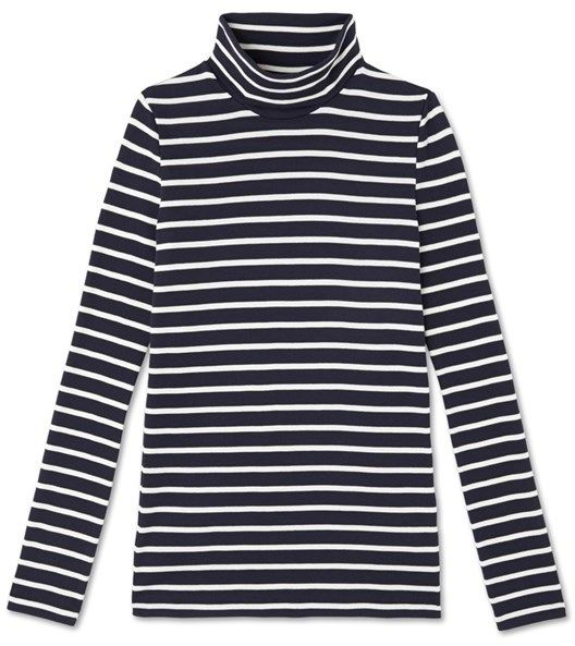 Iconic womens striped undersweater