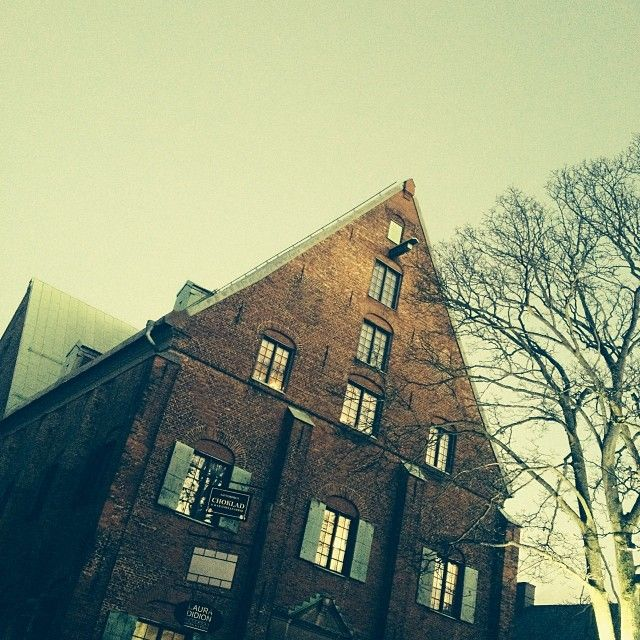 Kronhuset - Old building, originally built in 17th Century, held parliament for a while. Now a craft centre.