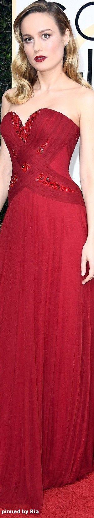 Brie Larson in Rodarte l The 2017 Golden Globe Awards l Ria