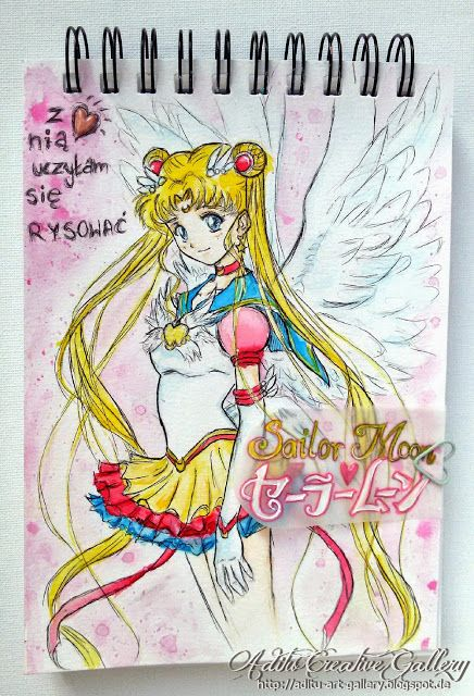 Sailor Moon- Queen of my drawings from my childhood :D