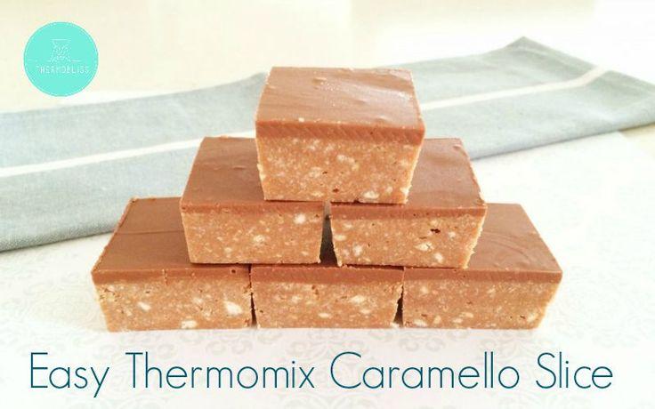 Thermomix Caramello Slice