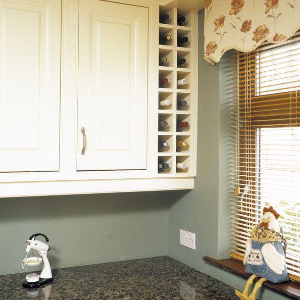 Wine rack-Kitchen Photos, Design, Ideas, Remodel, and Decor - Lonny