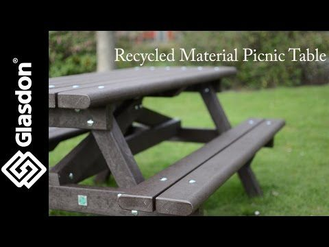 Glasdon UK | Recycled Material Picnic Table - YouTube https://uk.glasdon.com/recycled-material-picnic-table/bypass