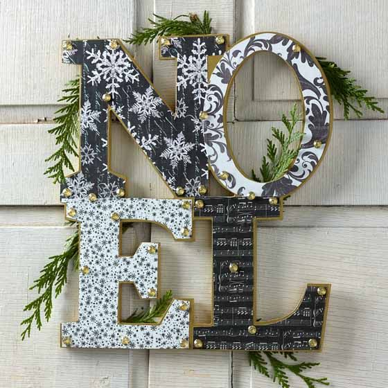 Best 20 decoupage paper ideas on pinterest decoupage for Diy modern christmas decorations