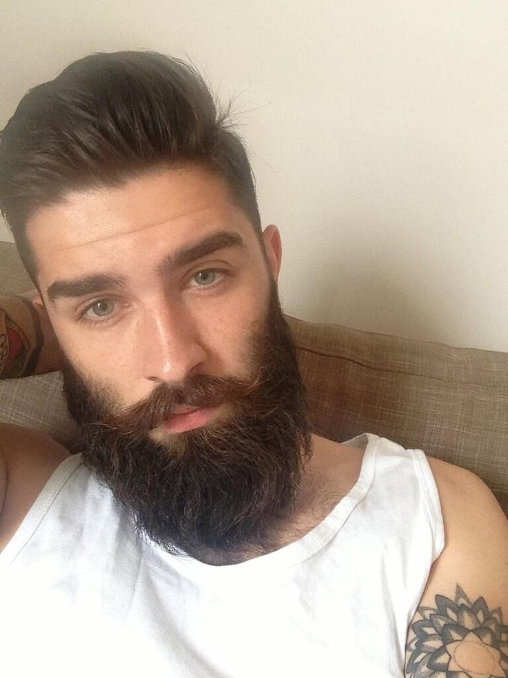 Chris J. Millington @chrisjohnmilly #beard #tattoos