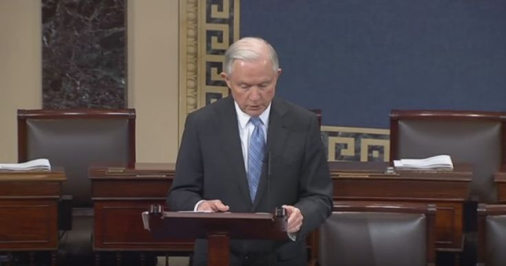 Sessions: Omnibus Explains Why 'Voters Are In Open Rebellion' In the dead of night after 2am this morning, Congressional leadership unveiled a more than 2,000 page 'omnibus' year-end funding bill.
