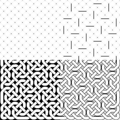 How to draw a celtic knot (or at least one of many...