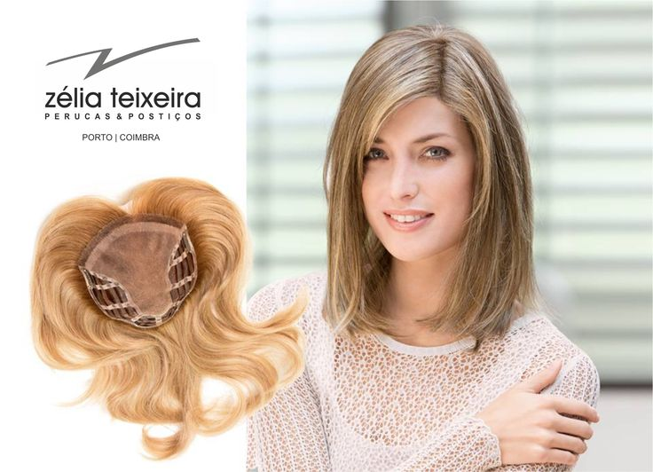Postiço | Hair-Top | Human Hair | www.zeliateixeira.pt