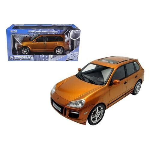Porsche Cayenne GTS Metallic Orange 1/18 Diecast Car Model by Norev