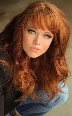 La moda en tu cabello Color de cabello rubio cobrizo 2015/2016