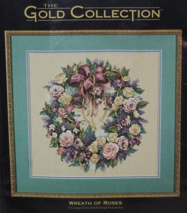 Набор для вышивания Dimensions 3837 Wreath of Roses Венок роз