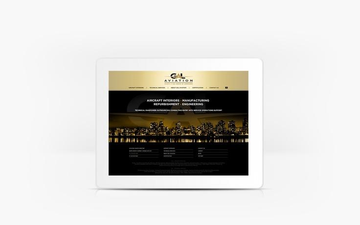 GAL Aviation | www.galaviation.ca | Site Web | Team Marketing • Web • Design