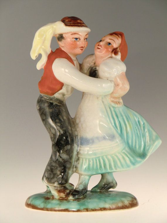Bohemian Czech Art Deco Ditmar Urbach Pottery by VintageRetroEu