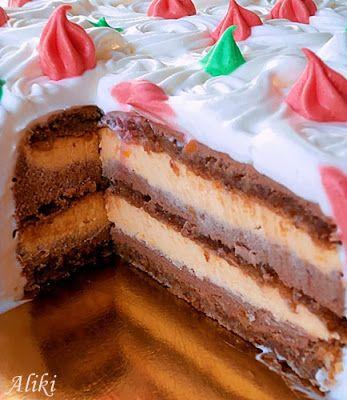 Mlečna čokoladna torta