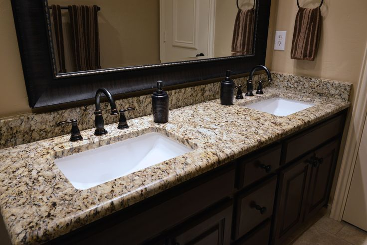 santa cecilia bathroom | Santa Cecilia granite bathroom vanity