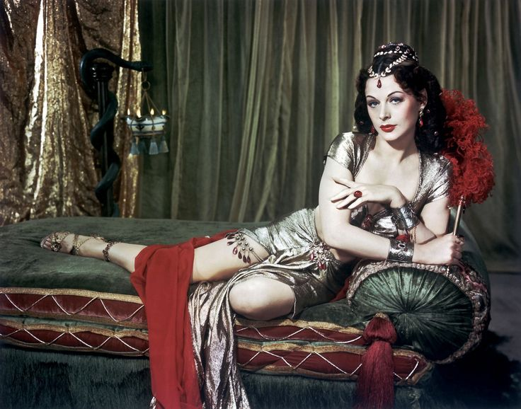 Hedy Lamarr, smouldering in Samson and Delilah, 1949.