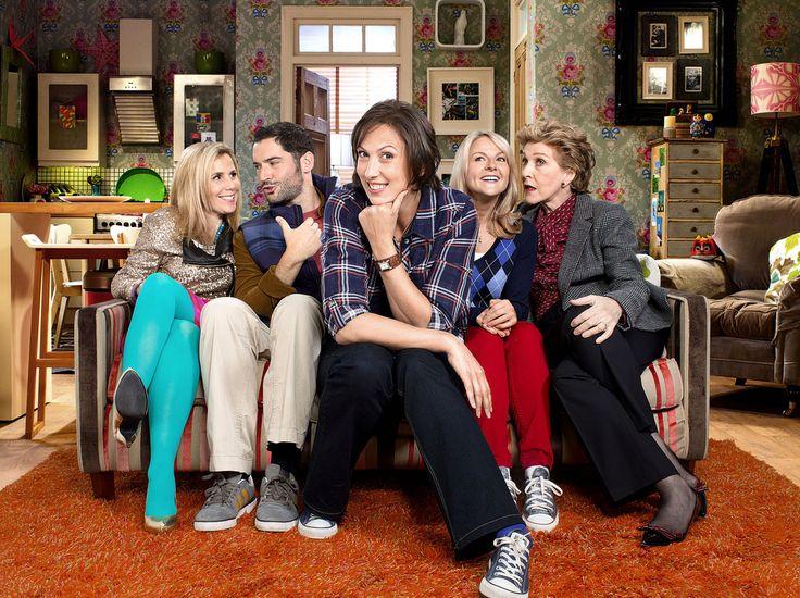 Miranda  Gary (TOM ELLIS), Tilly (SALLY PHILLIPS), Miranda (MIRANDA HART), Stevie (SARAH HADLAND), Penny (PATRICIA HODGE) - (C) BBC - Photographer: Adam Lawrence