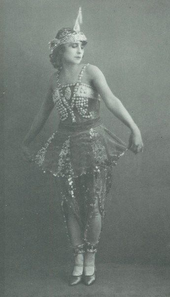 Sofia Fedorova  1879 - 1963  Bolshoi Ballet, Ballets Russes