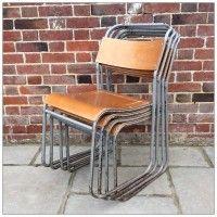 Remploy Tubular Chairs | mayflyvintage.co.uk | Warehouse Home Design Magazine