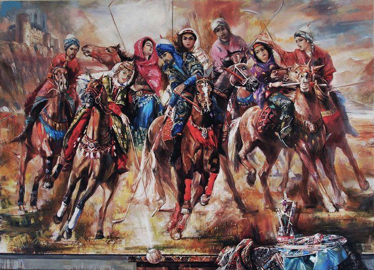 """Chovgan"" 180x250cm , oil on canvas .2015"