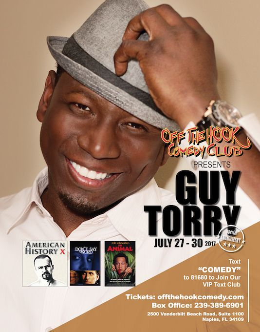 In the tradition of comedians who have made the transition from the stage to the screen, such as Richard Pryor, Eddie Murphy and many others, the multi-talented Guy Torry has made the leap stand-up to actor with great success.  #239comedy #offthehookcomedyclub