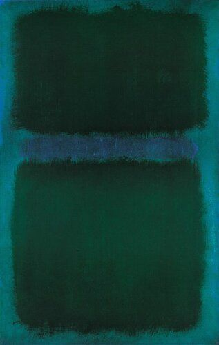 Blue Green Blue, 1961 by Mark Rothko Stone & Living - Immobilier de prestige - Résidentiel & Investissement // Stone & Living - Prestige estate agency - Residential & Investment www.stoneandliving.com
