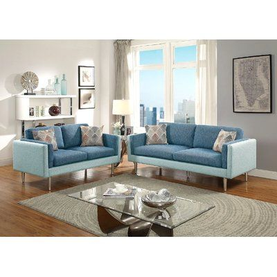 Best 25 couch and loveseat ideas on pinterest round for Jordan linen modern living room sofa