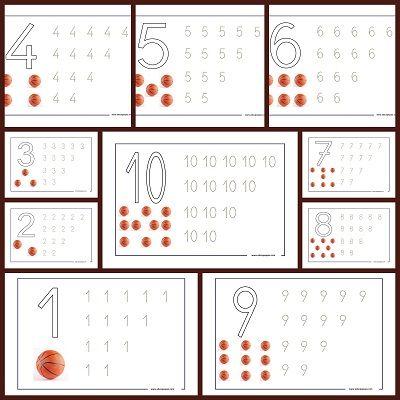 fichas de n meros aprender a contar y lectoescritura matem ticas el mundo de los n meros. Black Bedroom Furniture Sets. Home Design Ideas
