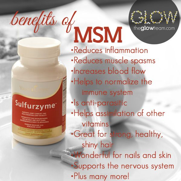 Benefits Of Msm Sulfurzyme From Youngliving Supplements Young Living Supplements Young